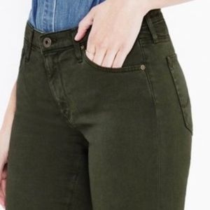 AG Prima size 27 sateen jeans